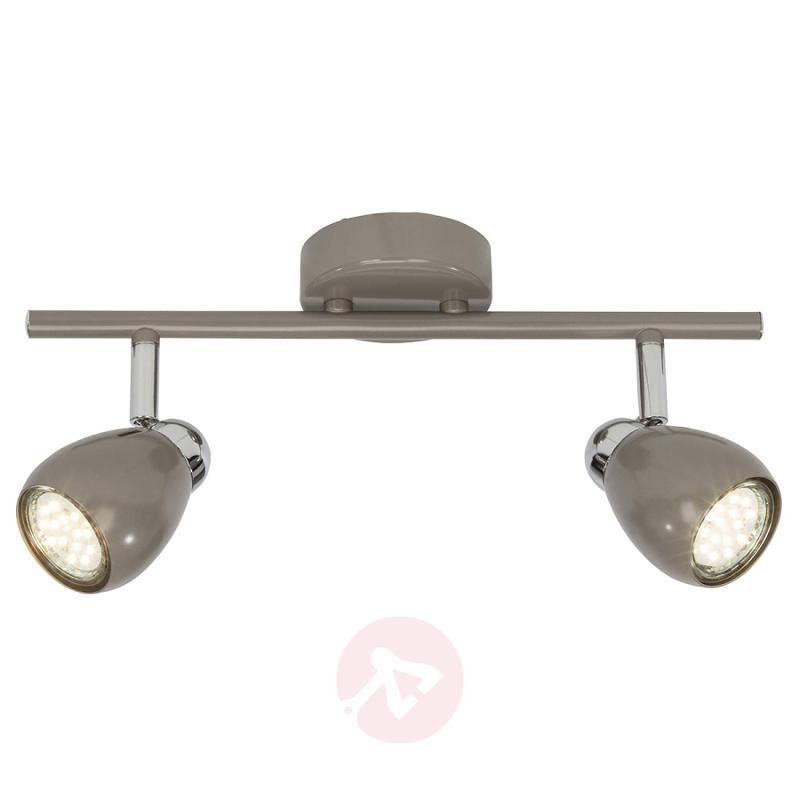 Two-bulb LED ceiling spotlight Milano - indoor-lighting