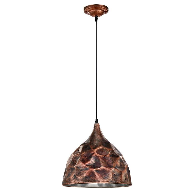 Copper-coloured Maira pendant light - Pendant Lighting