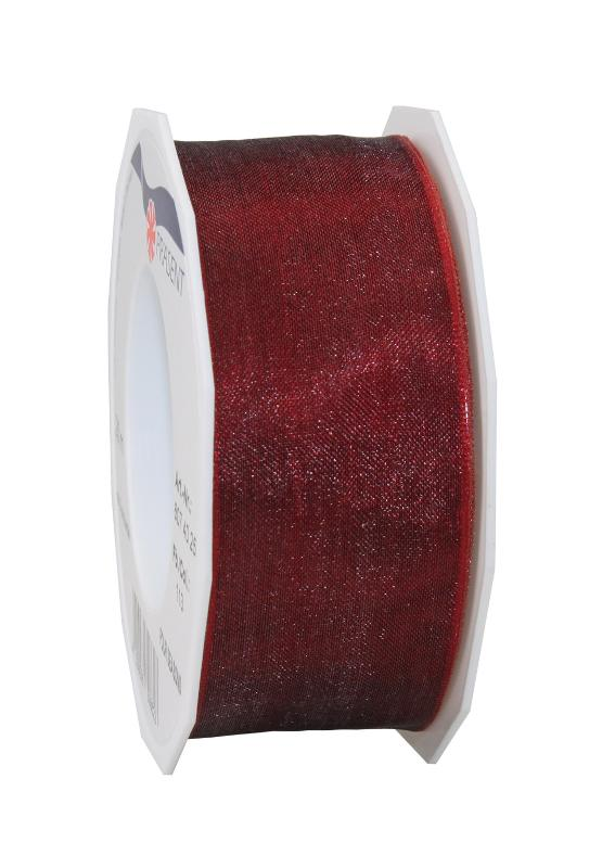 Four Seasons - Organza ribbon with wired edges - null