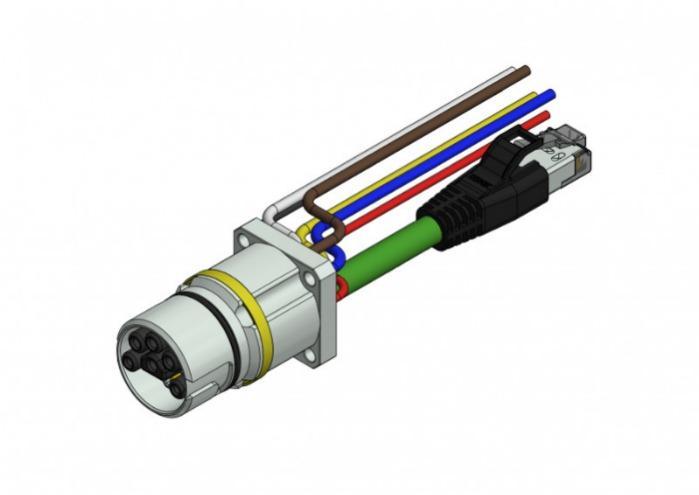 B23 CONEC Hybrid Receptacles - CONEC Hybrid receptacles B23