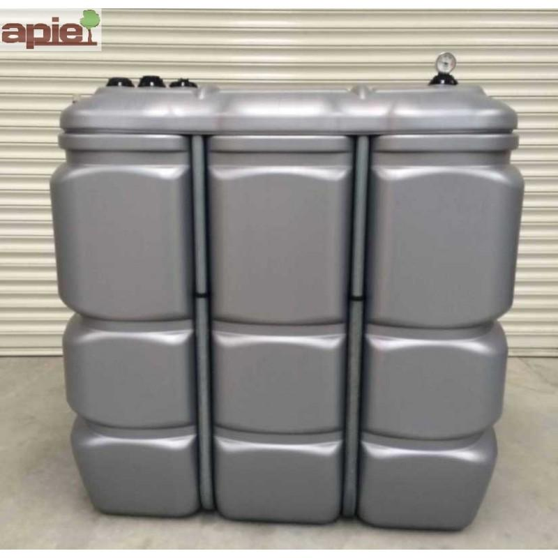 Cuve 1500 L pour le stockage d'huiles - gamme CFPE - Référence : CFPE1500/H