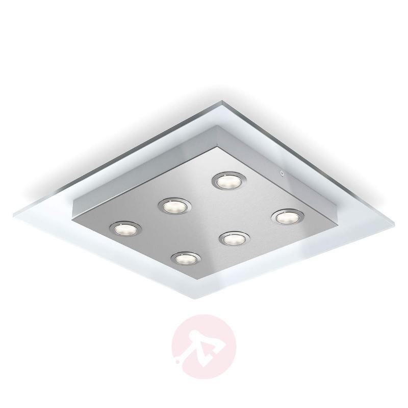 6-bulb LED ceiling lamp Matrix - Ceiling Lights