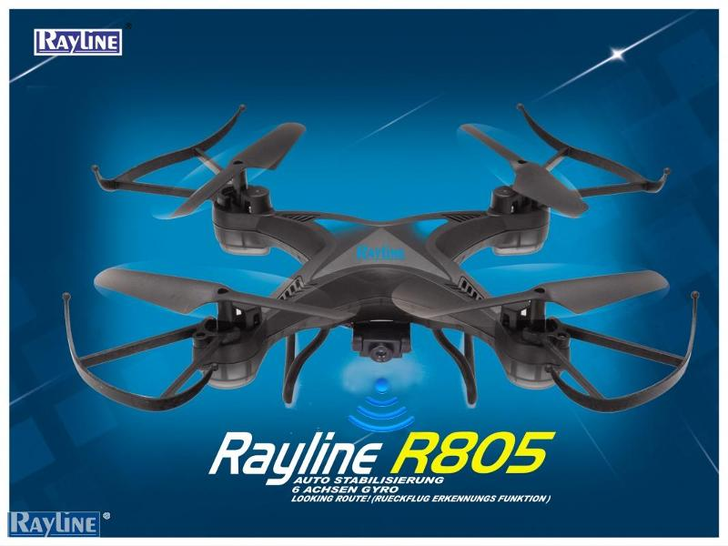 RC Ware anderer Hersteller RC Quadrocopter - R805wifi