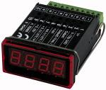 Micro-processor controlled digital display, 4-digit... - Microprocessor-controlled digital display unit