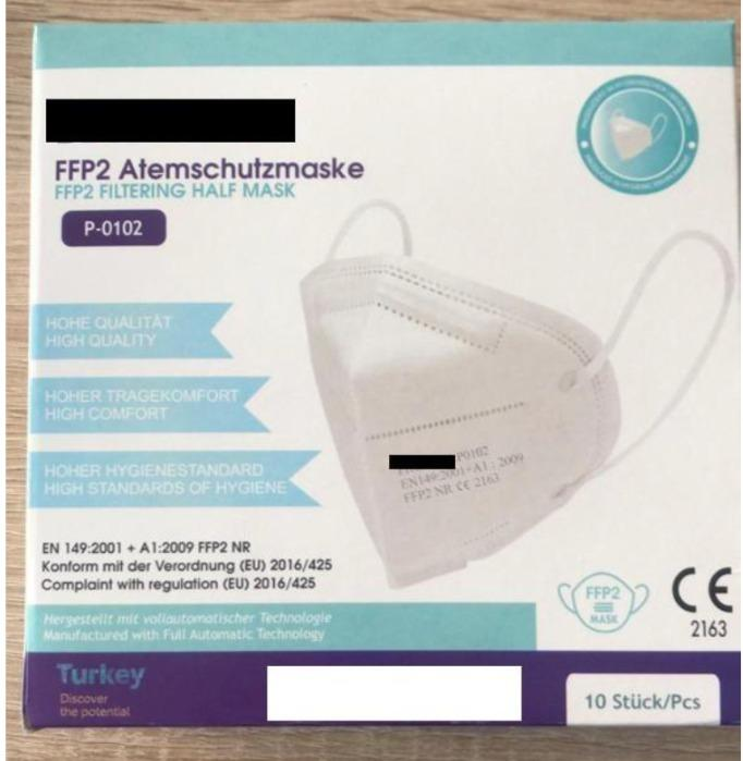 FFp2 mask - Certified FFP2 protective masks - Made in Istanbul! (from EUR 0,319/pc) – availa