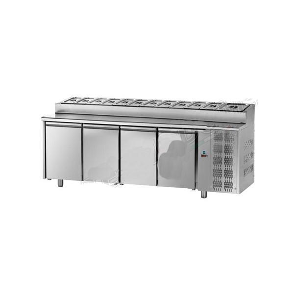 Table réfrigérée snack 4 portes - Référence TF4SYGNSK