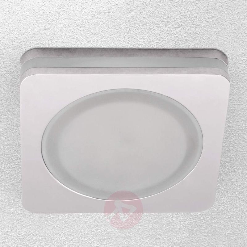 Square shaped LED recessed lamp Finnian - dimmable - Recessed Spotlights