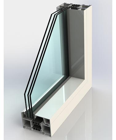Portes-Fenêtres Accordéons - AIRCLOS S110 Thermal