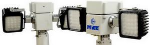 Пневматическая осветительная мачта - дистанционно управляемая, заданное положение прожекторов