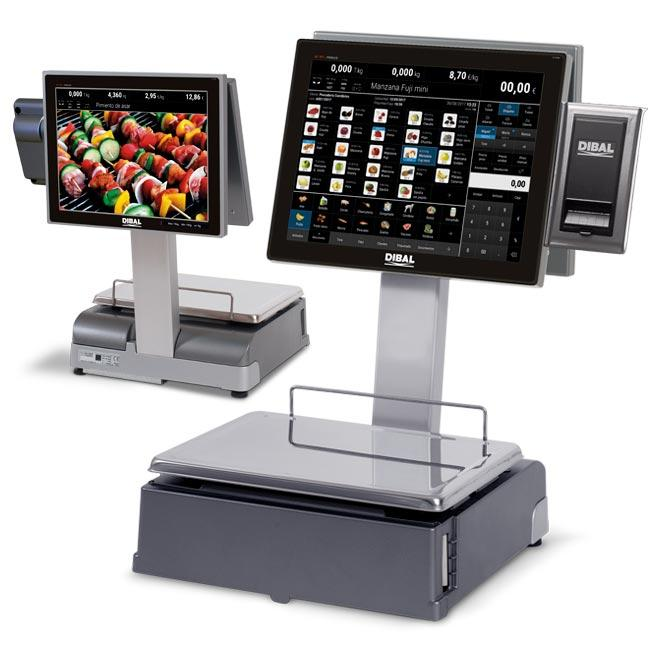 CS-1100 Series - PC scales with receipt and/or label printer