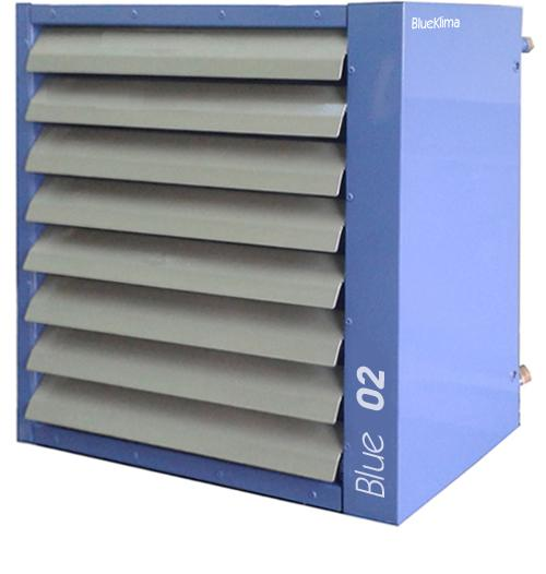 Hot Water Air Heater - Capacity: 6-59 kW