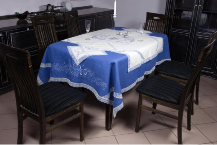 "Table linen ""New Year"" - The set of table linen in two colors."
