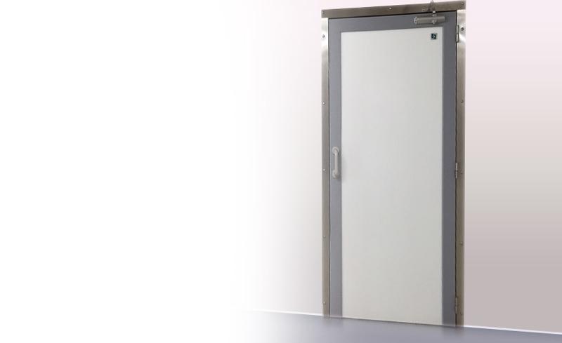 Bloc-porte en polyéthylène insensible à l'eau - Portes et protections en polyéthylène