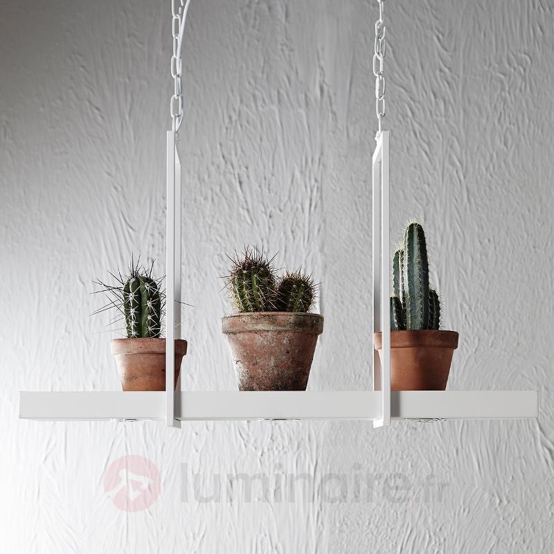 Suspension LED Tray en blanc - Suspensions LED