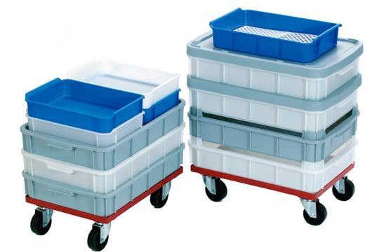 Cajas de plástico apilables -