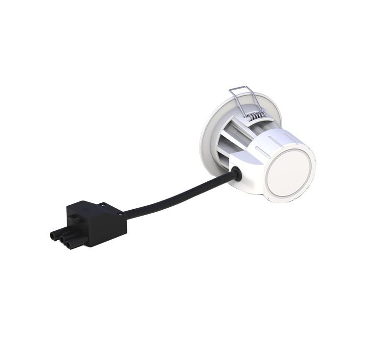 Fire Rated LED Recessed Downlight - 8W, IP65, Ø80 mm -