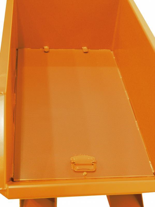 Bac á copeaux - Bac spécialement conçu pour la collecte et la séparation des matières solides