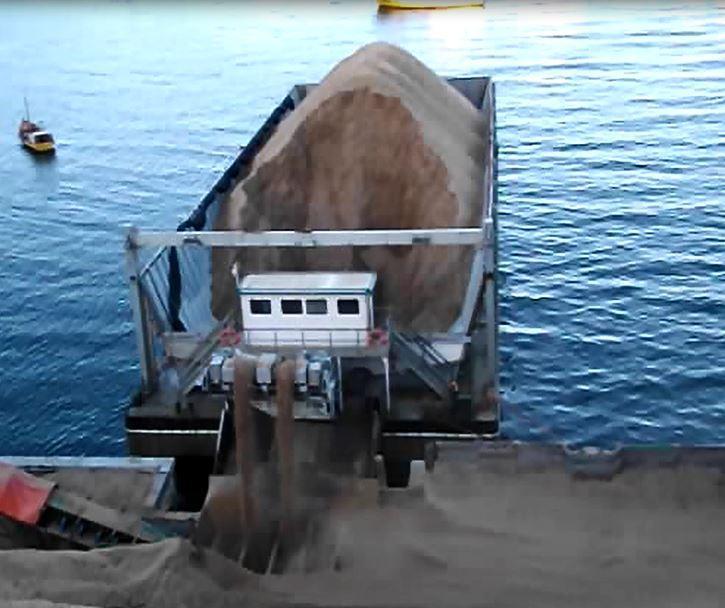 BARGE DE PLAQUETTES D'EUCALYPTUS - Biomasse Archives
