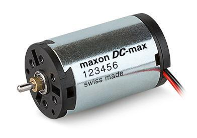DC motor - DC-max program