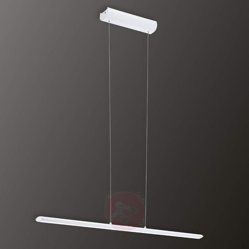 Pellaro - dimmable LED hanging light in white - Pendant Lighting