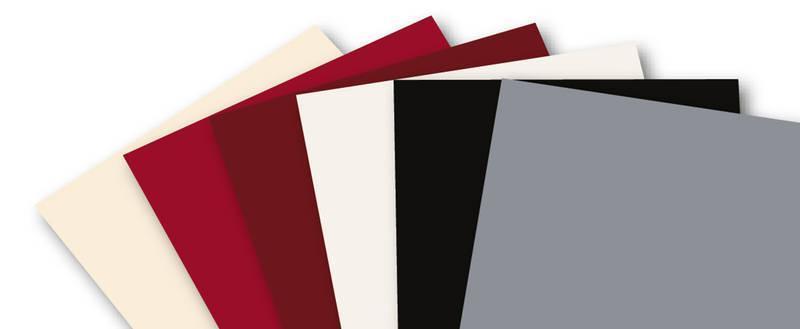 Decorative sheets Smooth decorative sheets - Colour Fan Shining STAR
