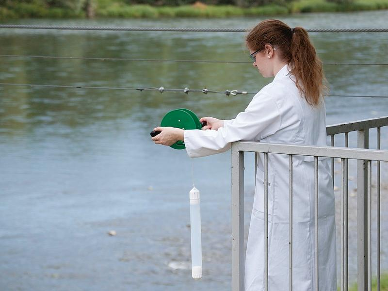 AquaSampler - Sampling device, for water and effluents, FEP/PTFE ultra pure