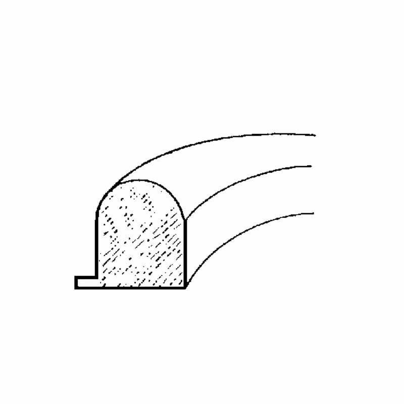 Joint Moulé Pour Porte Rectangle-c/c Alim - Accessoire