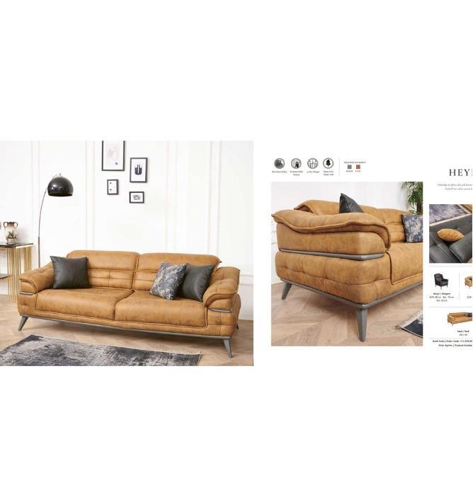 Ērts Materiāls Dīvāns Dzīvojamā Istaba - Ērti auduma viesistabas dīvānu ražotāji