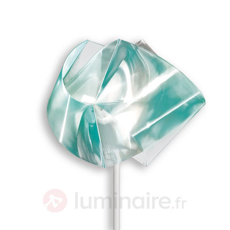 Lampadaire Gemmy Prisma, vert émeraude - Lampadaires design