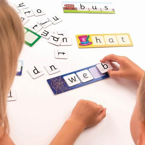 Toys Match and Spell Game - Educational Toys