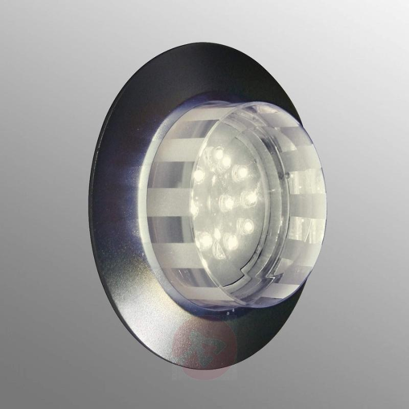 Tito LED wall recessed light, warm white - outdoor-led-lights