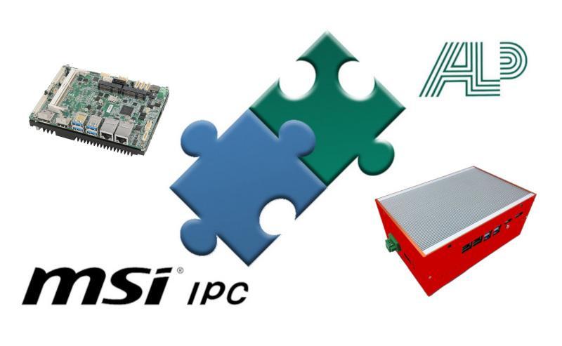 Mainboards mit Qualität von MSI IPC  - Alptech ist offizieller Channel Partner von MSI IPC - Auch als Komplettsysteme!