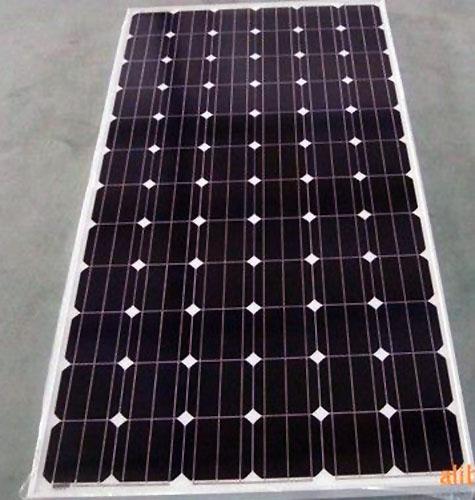 Panel solar monocristalino 315w - energía limpia, 25 años de vida útil