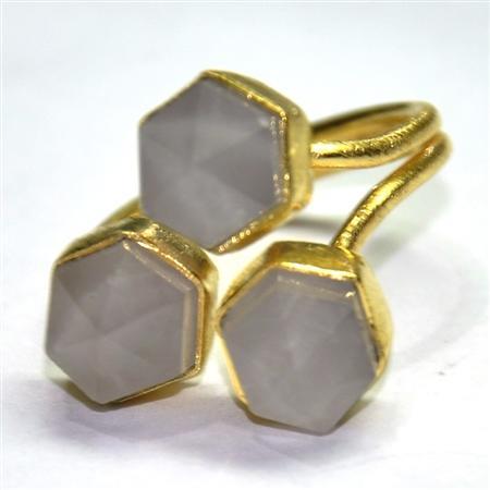 Semi Precious Fashion Jewellery (SM-003)  - MOQ - 200 pcs | Purnima Exports