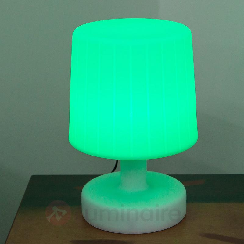 Taimi - Lampe à poser LED ext., chgt de couleur - Lampes décoratives d'extérieur
