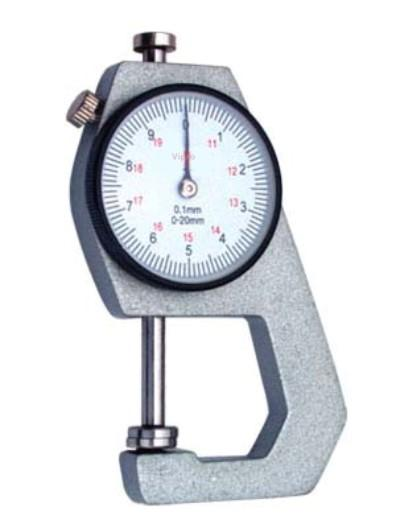 Thickness gauge - MEASURING INSTRUMENTS