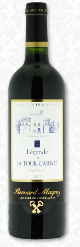 Haut-Médoc wine AOC - Château la Tour Carnet
