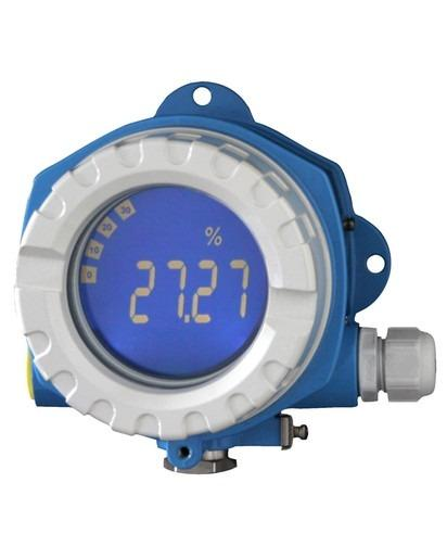 RIA14  Loop-powered field indicator - Indication of a 4…20 mA signal on-site for a better process overview