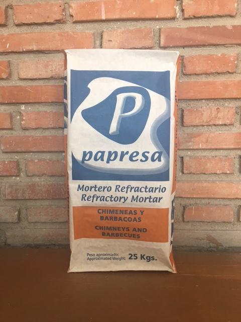 Mortero Refractario - Refractory mortar