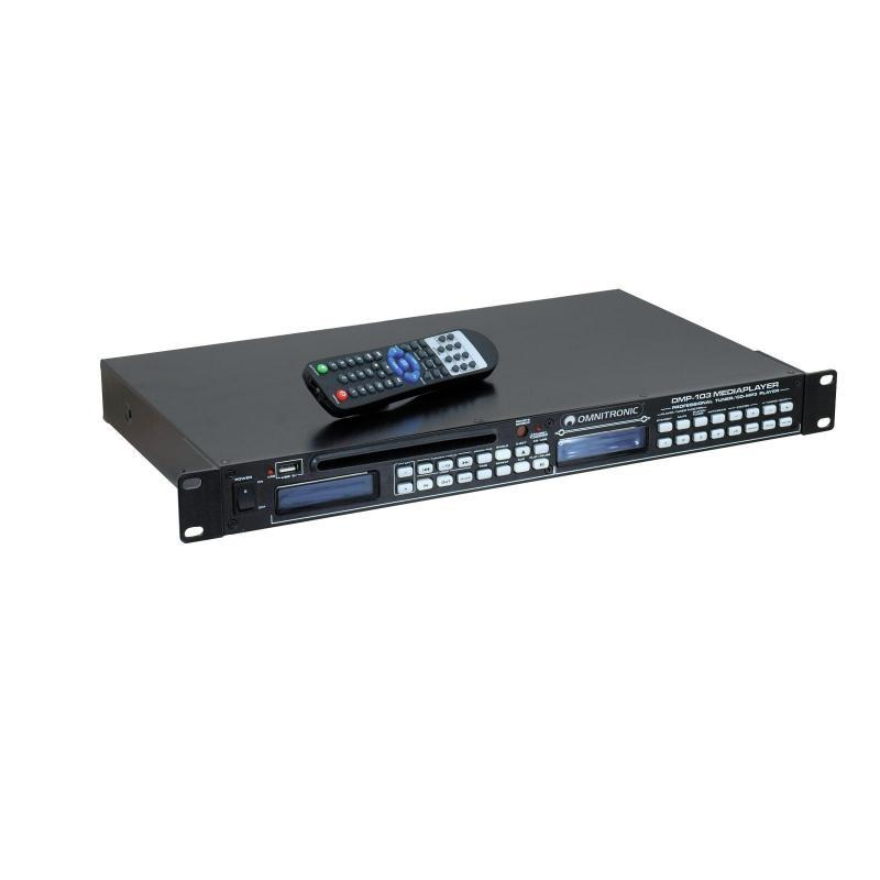 DJ SD/USB-Player - Omnitronic DMP-103 Mediaplayer