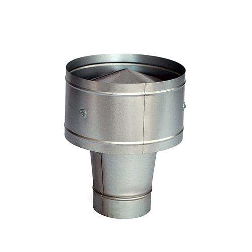 Round gravity ventilator - null