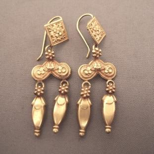 Boucles d'oreilles - Or 22ct, Afghanistan