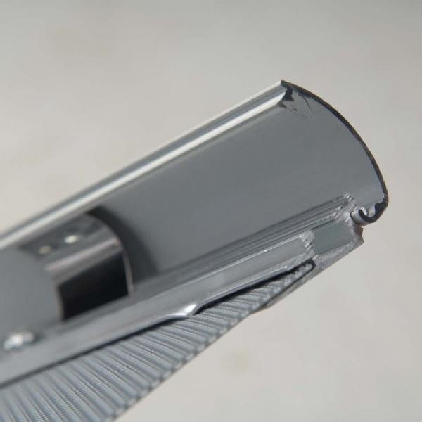 Click Frames - Cadre click bord 25 mm aluminium anodisé naturel - coins arr