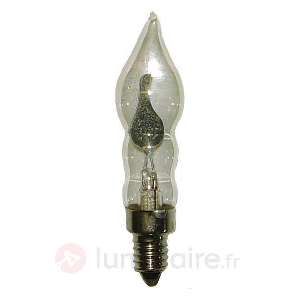 Pack de 2 lampes bougies clignotentes E10 1,5W 230 - Ampoules à l'unité