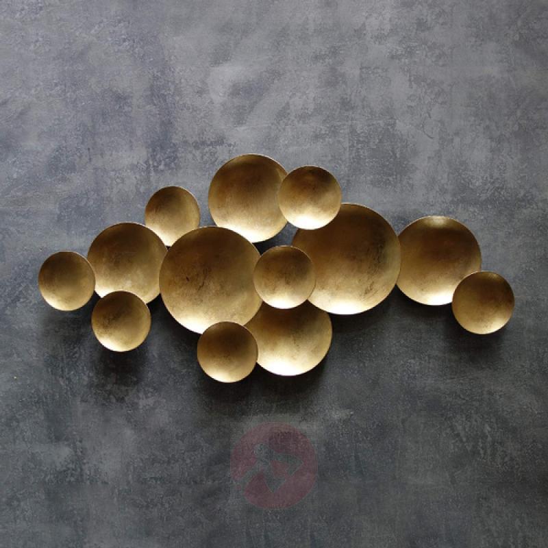 Golden designer wall light Bubbles - indoor-lighting