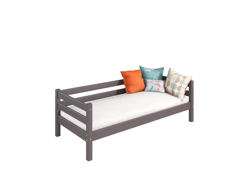 "Option 2 Bed ""Sonya"" Lavender With Back Protection - Children's room furniture"