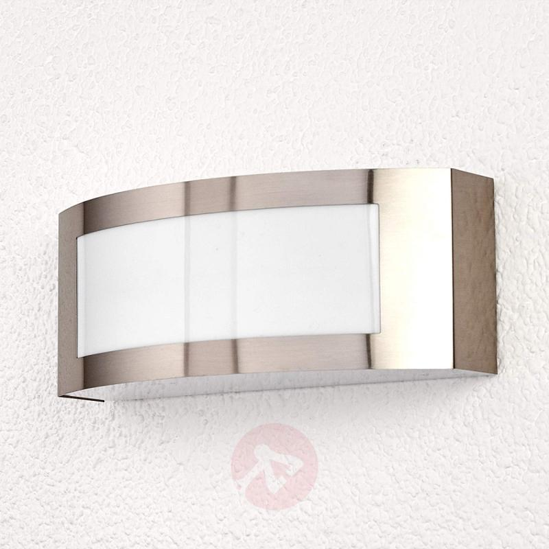 Stainless steel outdoor wall lamp Raja - stainless-steel-outdoor-wall-lights