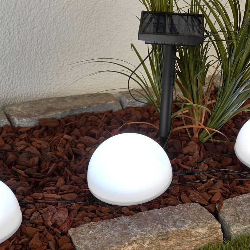 Lampe solaire décorative Mireja avec LED RGB - Lampes solaires décoratives