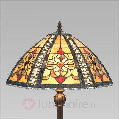Lampadaire DESPINA style Tiffany - Lampadaires style Tiffany