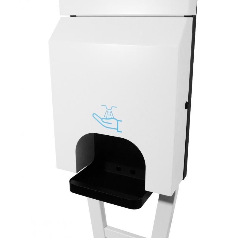 Isaty - Distributeur De Gel Hydro-alcoolique - DISTRIBUTEURS DE LOTION / GEL HYDROALCOOLIQUE